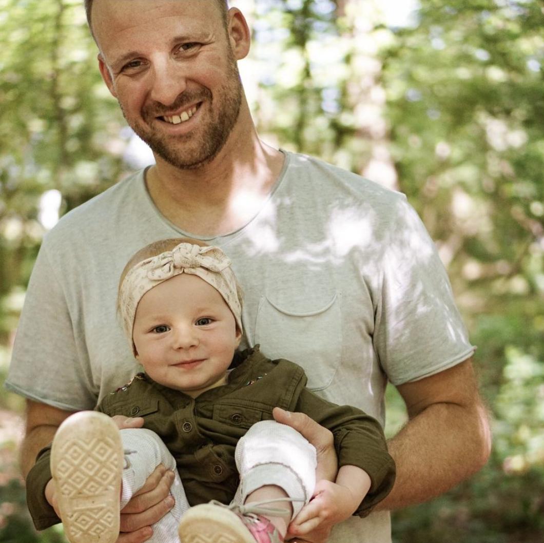 Fotoshooting Vater und Tochter