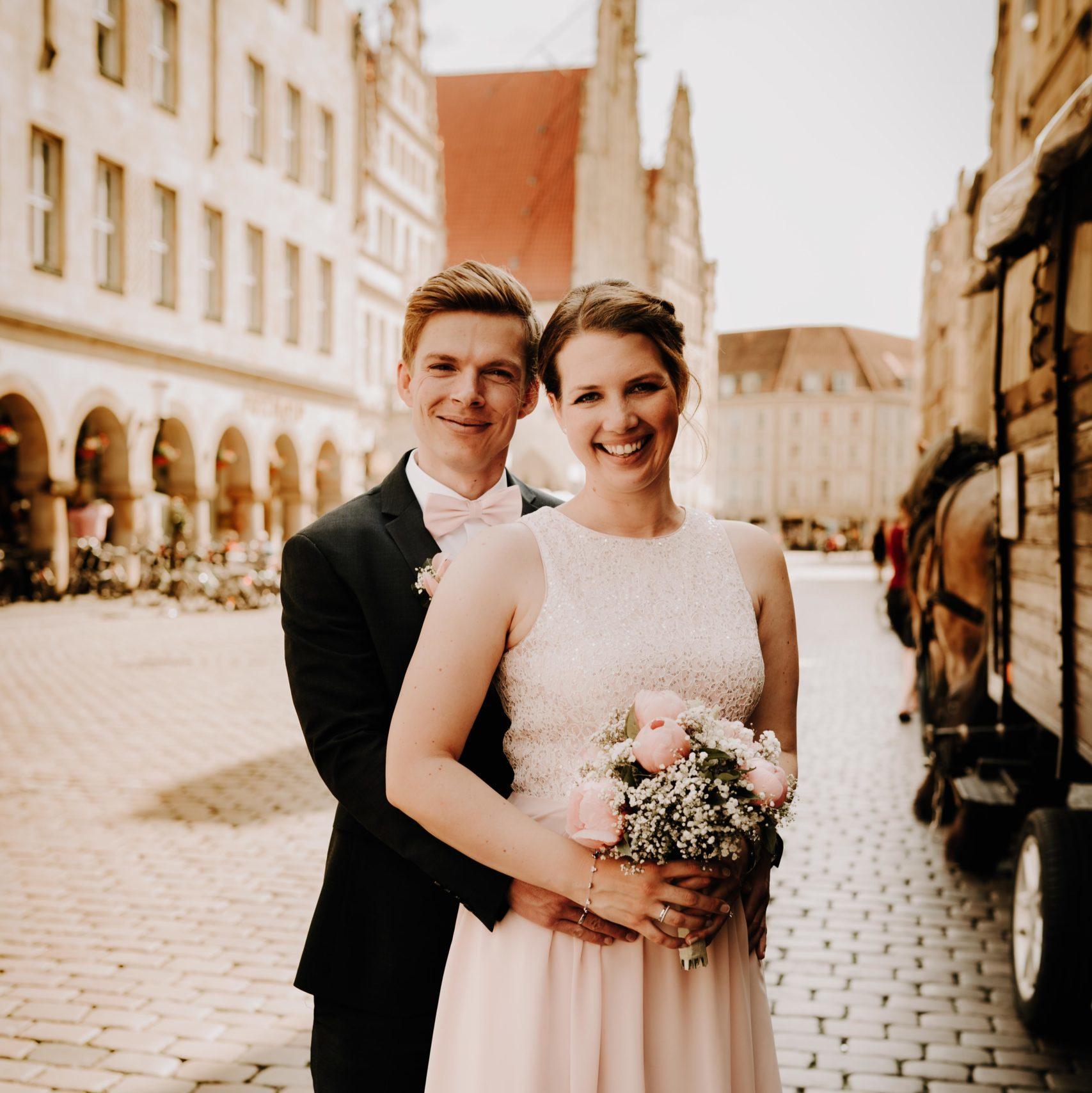 Shooting Hochzeit in Münster